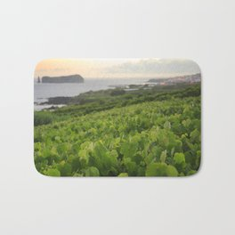 Grapevines and islet Bath Mat