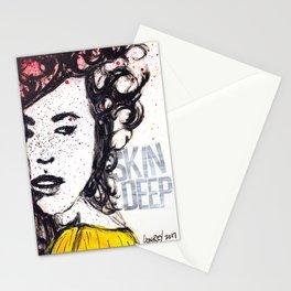 Skin Deep Stationery Cards