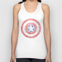 steve rogers Tank Tops featuring Who is Steve Rogers? by dailymantra