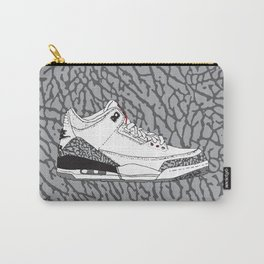 Jordan 3 White Cement Carry-All Pouch