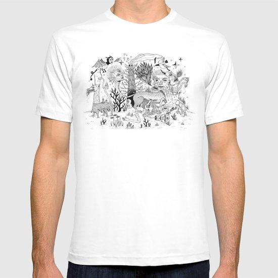 Grotesque Flora and Fauna T-shirt