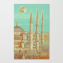 Sultanahmet, Istanbul Turkey 3c Canvas Print