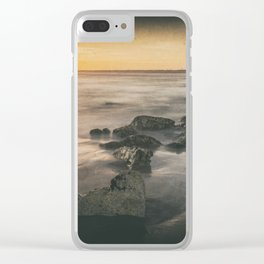 Cabedelo beach in the city of Viana do Castelo, Portugal Clear iPhone Case