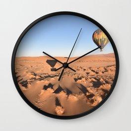 Ballooning in the Namib Wall Clock