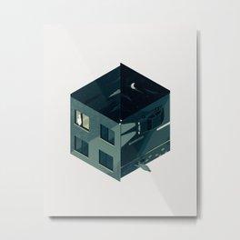 Cube 05 Metal Print