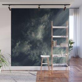 Cloud and sky 9 -cloud, sky, blue, positive,optimism Wall Mural