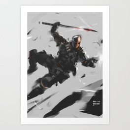 DStroke Sketch Art Print