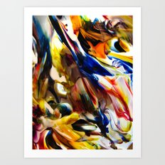 Interstitial Art Print