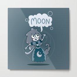 Moon Princess Metal Print