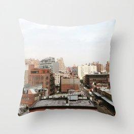 NYC Summer Throw Pillow