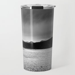 The lonely tree in the sea  Travel Mug