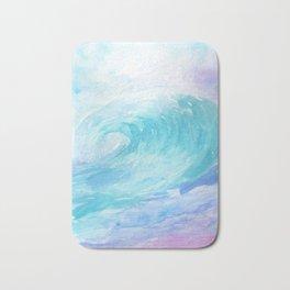 Ombre Wave Bath Mat