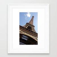 eiffel tower Framed Art Prints featuring Eiffel Tower by caroline