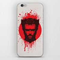 xmen iPhone & iPod Skins featuring Logan by Fimbis