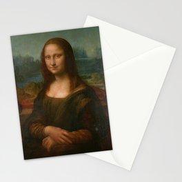 Mona Lisa Classic Leonardo Da Vinci Painting Stationery Cards