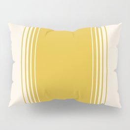 Marigold & Crème Vertical Gradient Pillow Sham