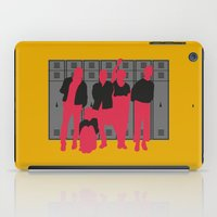 the breakfast club iPad Cases featuring The Breakfast Club by FilmsQuiz