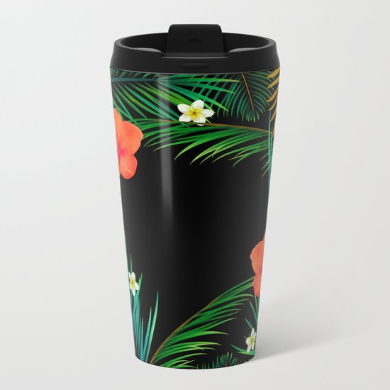 TROPICAL PARADISE Metal Travel Mug