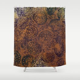 Abstract No. 316 Shower Curtain