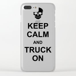 Trucker Clear iPhone Case