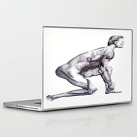 runner Laptop & iPad Skins featuring Runner by Eugene G