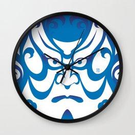 Shibaraku - a Kabuki Portrait Wall Clock