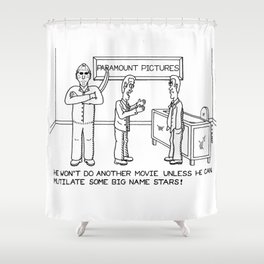 Jason - Movie - Cartoon - Drawing Shower Curtain