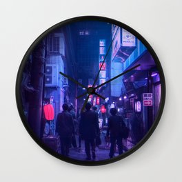 Tokyo Nights / One Minute To Midnight / Liam Wong Wall Clock