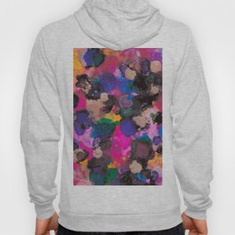 Multi-Coloured Abstract Alcohol Ink Painting - LaurensColour Hoody