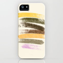 Trees and marshmallow iPhone Case