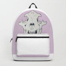 Tiger Skull w/ gold Backpack