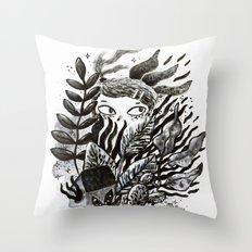 Hidden Place Throw Pillow