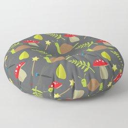 Fairy Garden Pattern 2 Floor Pillow