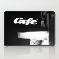 cafe iPad Cases featuring Cafe  by Julia Aufschnaiter