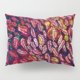 Flowers of the Red Tree, Crimson King Tree by Seraphine Louis Pillow Sham