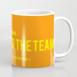 FOR THE TEAM - Hazuki Nagisa Coffee Mug