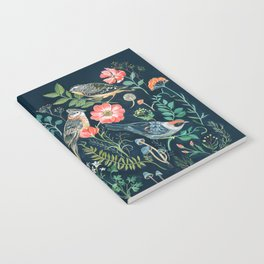 Birds Garden Notebook