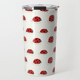 Ladybug rush - Pattern Travel Mug