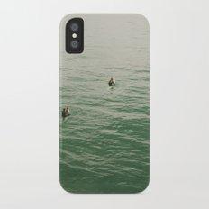 Surfers iPhone X Slim Case