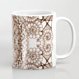 Renaissance Zentangle Tile Doodle Design Coffee Mug