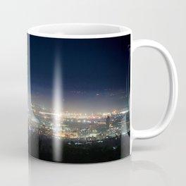 Sheffield skyline at night Coffee Mug