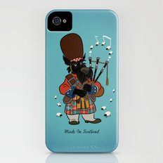 Scottie with a bagpipe Slim Case iPhone (4, 4s)