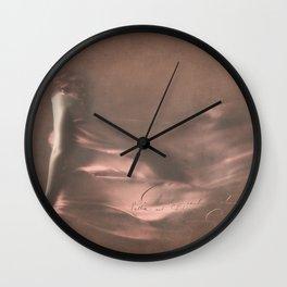 SEPIA DANCING Wall Clock