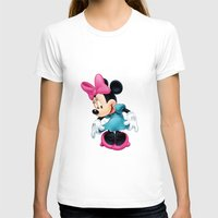 minnie mouse T-shirts featuring Minnie Mouse Cartoon by Maxvision