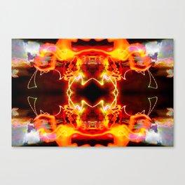 Soul spark geometry Canvas Print
