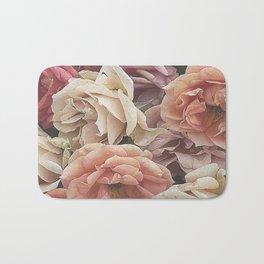 Great Garden Roses,peach Bath Mat