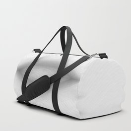 black and white, abstract Duffle Bag