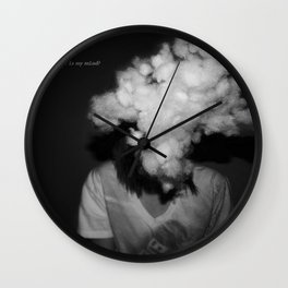 Where is my mind Wall Clock