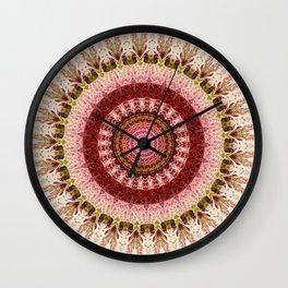 New Color Pyramidal Mandala 66 Wall Clock