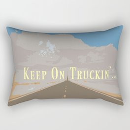 KEEP ON TRUCKIN'... Rectangular Pillow